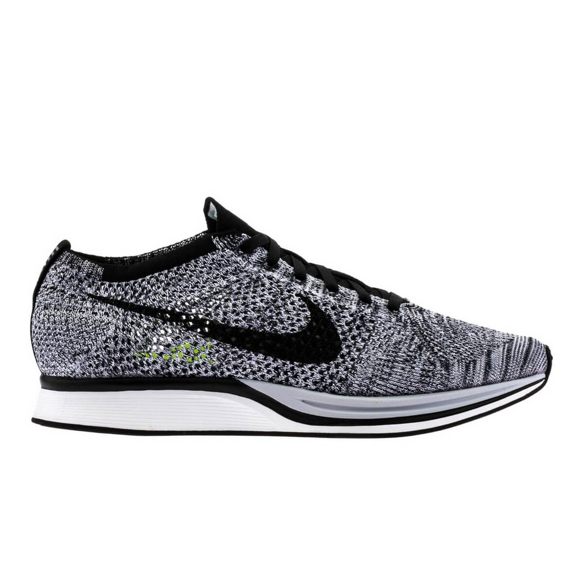 nike flyknit racer oreo 1 0 526628 101 pop need store. Black Bedroom Furniture Sets. Home Design Ideas