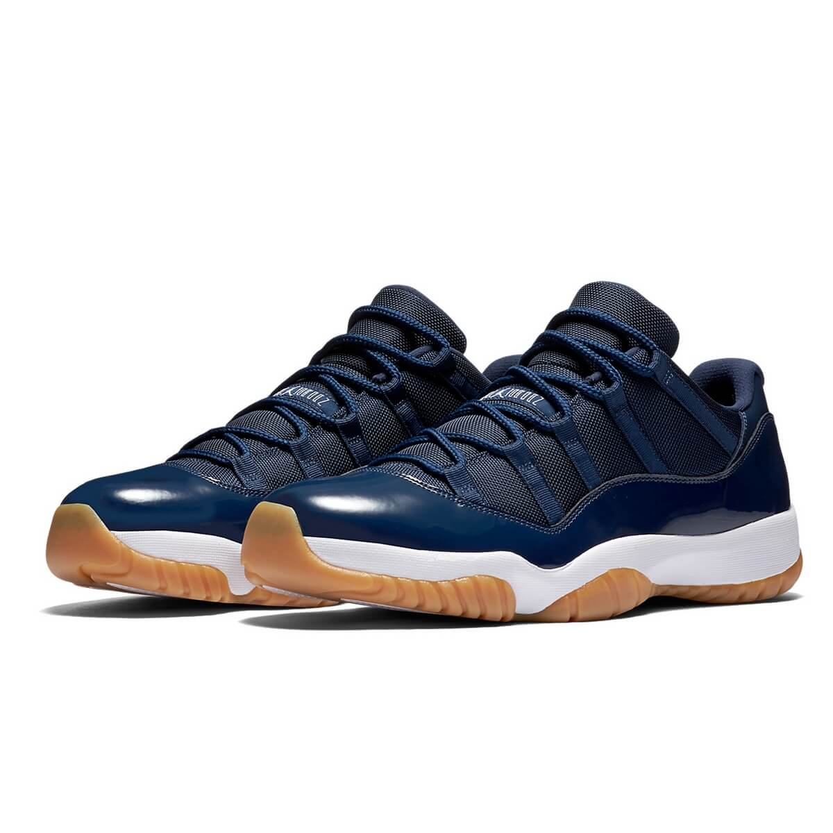 Nike Air Jordan 11 Retro Low Midnight Navy White Gum Light Brown 528895-405 f0052508c